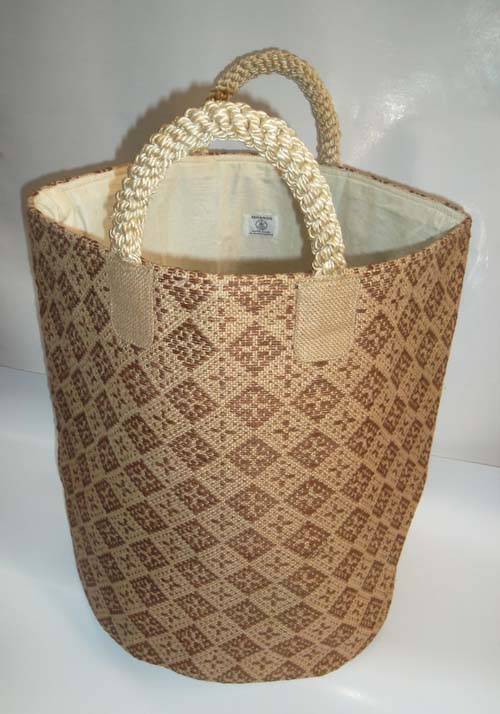 Laundry Basket (dark brown)